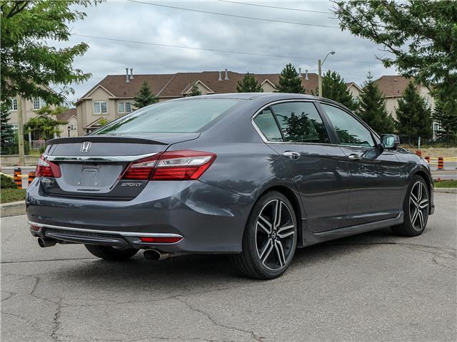 2016 Honda Accord  (Stk: 12437G) in Richmond Hill - Image 4 of 13