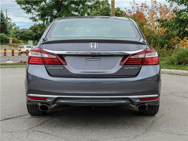 2016 Honda Accord  (Stk: 12437G) in Richmond Hill - Image 5 of 13