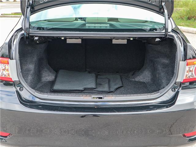 2013 Toyota Corolla  (Stk: 12422G) in Richmond Hill - Image 18 of 22