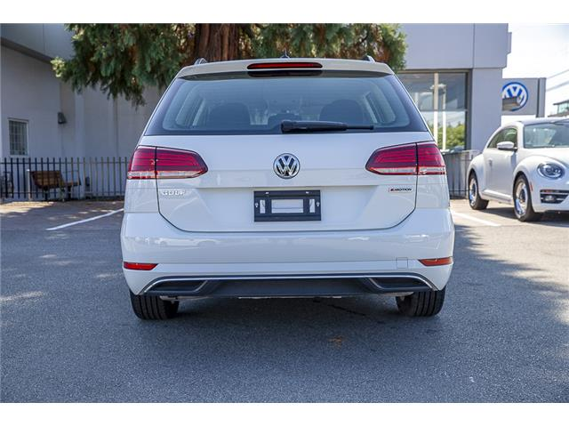 2019 Volkswagen Golf SportWagen 1.8 TSI Comfortline (Stk: VW0968) in Vancouver - Image 5 of 26