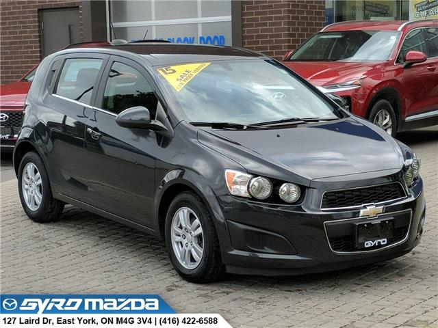 2015 Chevrolet Sonic LT Auto (Stk: 29077A) in East York - Image 1 of 28