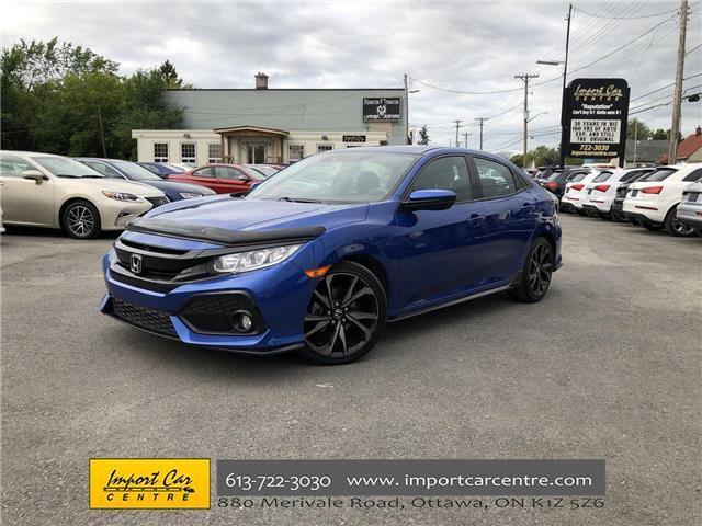 2017 Honda Civic Sport (Stk: 309867) in Ottawa - Image 1 of 25