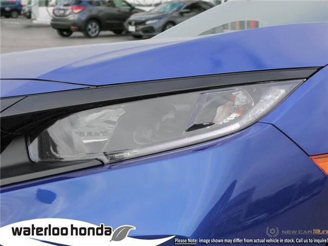 2019 Honda Civic LX (Stk: H6136) in Waterloo - Image 10 of 23