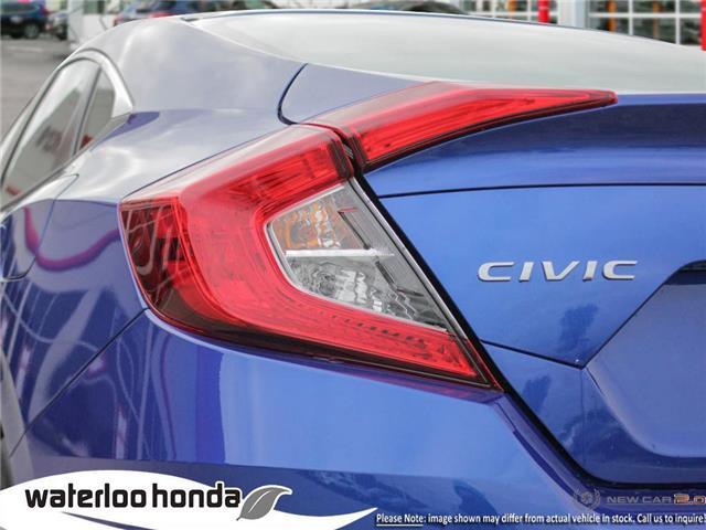 2019 Honda Civic LX (Stk: H6136) in Waterloo - Image 11 of 23