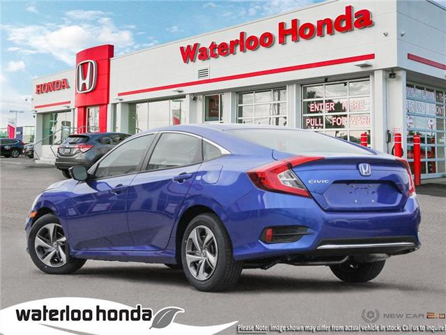 2019 Honda Civic LX (Stk: H6137) in Waterloo - Image 4 of 23