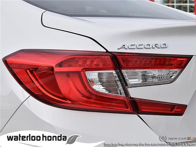 2019 Honda Accord Touring 2.0T (Stk: H6132) in Waterloo - Image 11 of 23