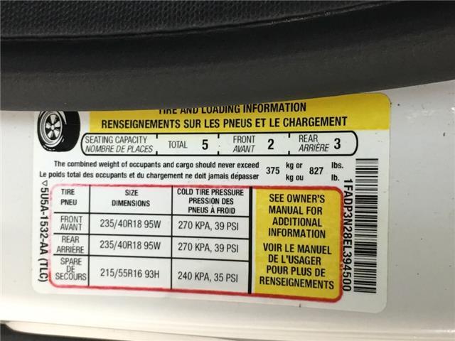 2014 Ford Focus Titanium (Stk: 35422W) in Belleville - Image 22 of 25