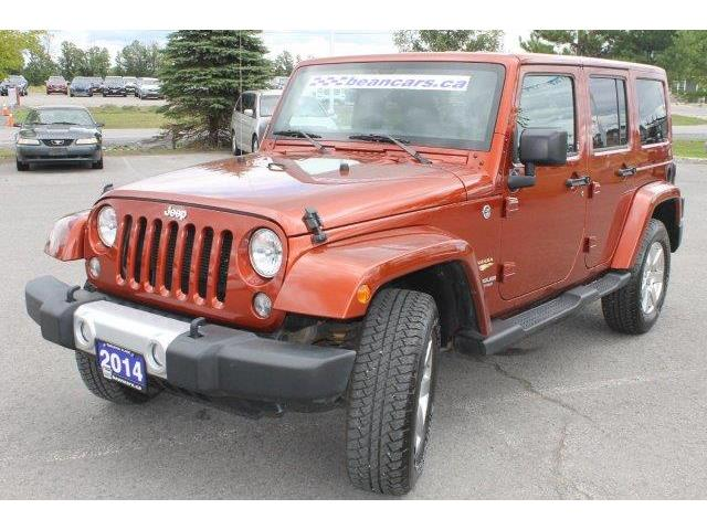2014 Jeep Wrangler Unlimited Sahara (Stk: 85858) in Carleton Place - Image 1 of 19