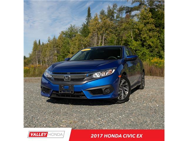 2017 Honda Civic EX (Stk: U5370A) in Woodstock - Image 1 of 10
