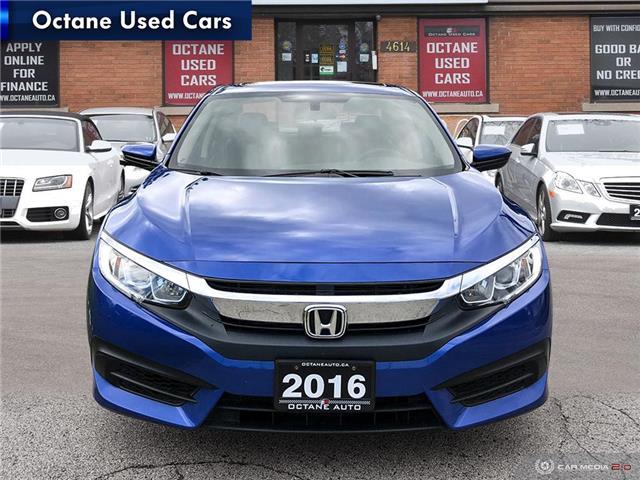 2016 Honda Civic EX (Stk: ) in Scarborough - Image 2 of 25