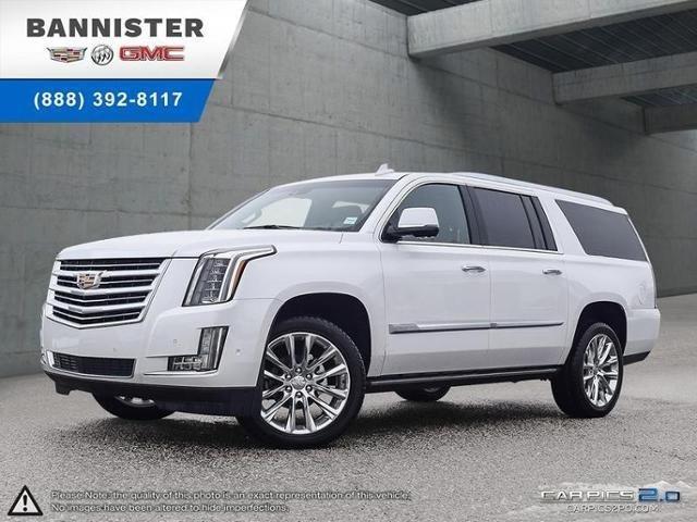 2019 Cadillac Escalade ESV Platinum (Stk: 19-230) in Kelowna - Image 1 of 11