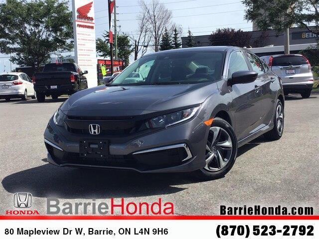 2019 Honda Civic LX (Stk: 191474) in Barrie - Image 1 of 19