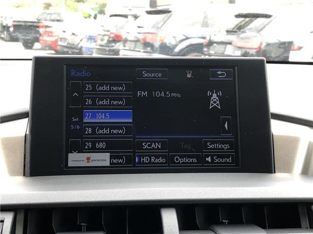 2017 Lexus NX 200t Base (Stk: 139924) in Ottawa - Image 16 of 26