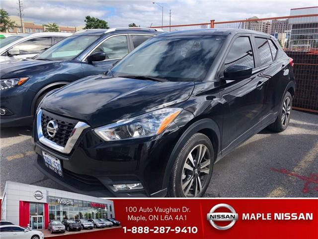 2018 Nissan Kicks Apple Carplay/ Android Auto, Alloy+++ (Stk: M18K032) in Maple - Image 1 of 1