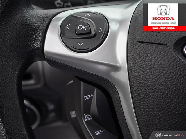 2014 Ford Focus SE (Stk: 20103B) in Cambridge - Image 18 of 27