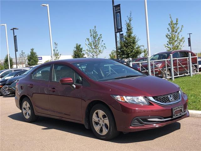 2014 Honda Civic LX (Stk: I191176A) in Mississauga - Image 1 of 13