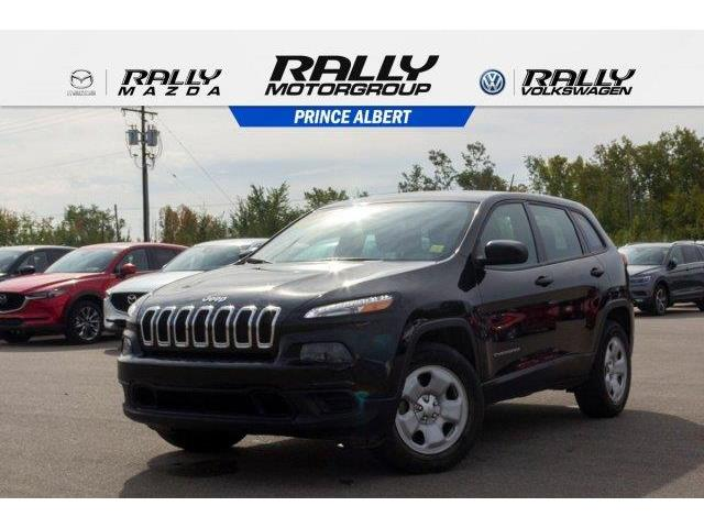 2017 Jeep Cherokee Sport (Stk: V782A) in Prince Albert - Image 1 of 11