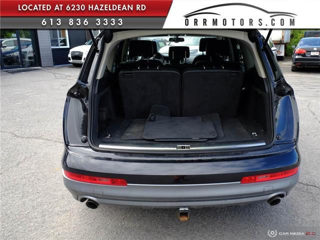 2011 Audi Q7 3.0 TDI Premium (Stk: 5874) in Stittsville - Image 10 of 27