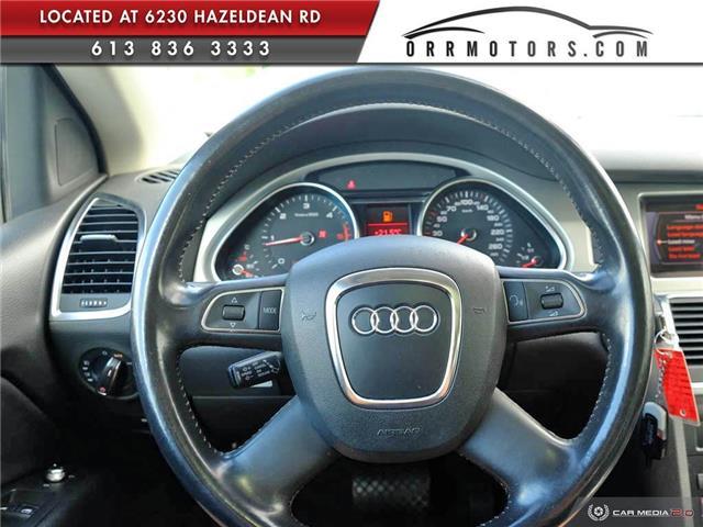 2011 Audi Q7 3.0 TDI Premium (Stk: 5874) in Stittsville - Image 13 of 27