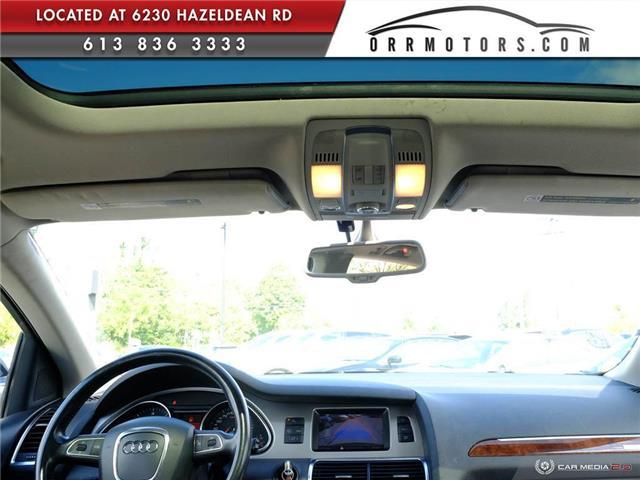 2011 Audi Q7 3.0 TDI Premium (Stk: 5874) in Stittsville - Image 19 of 27