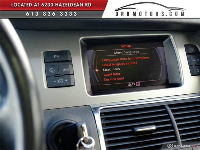 2011 Audi Q7 3.0 TDI Premium (Stk: 5874) in Stittsville - Image 20 of 27