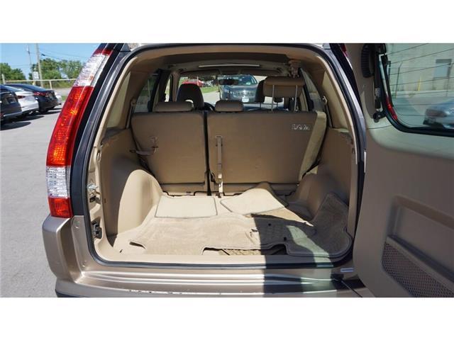 2006 Honda CR-V EX-L (Stk: HN2287A) in Hamilton - Image 25 of 34