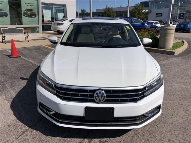 2018 Volkswagen Passat 2.0 TSI Comfortline (Stk: 1VWBA7) in Oakville - Image 8 of 20