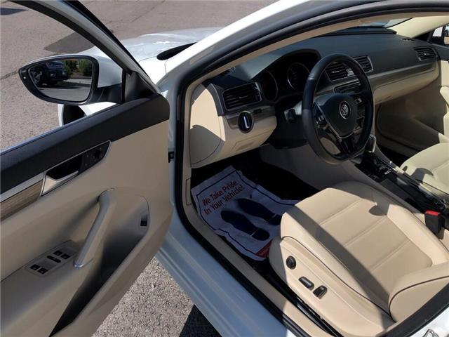2018 Volkswagen Passat 2.0 TSI Comfortline (Stk: 1VWBA7) in Oakville - Image 11 of 20