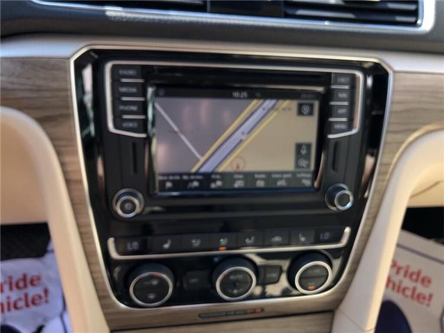 2018 Volkswagen Passat 2.0 TSI Comfortline (Stk: 1VWBA7) in Oakville - Image 17 of 20