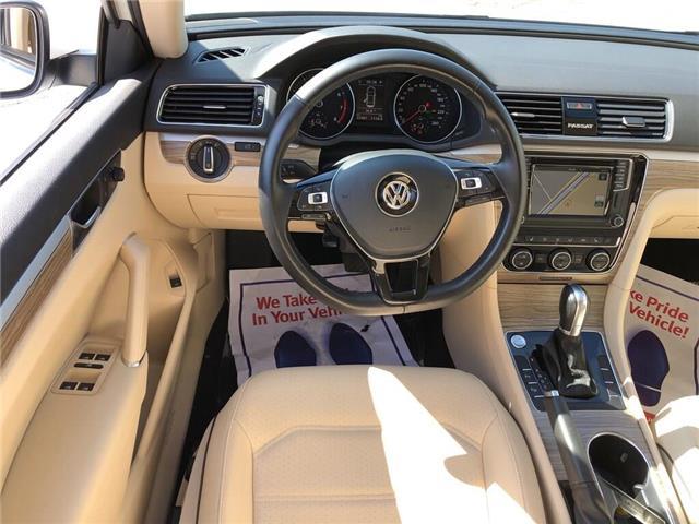 2018 Volkswagen Passat 2.0 TSI Comfortline (Stk: 1VWBA7) in Oakville - Image 19 of 20