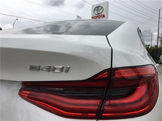 2018 BMW 640i xDrive Gran Turismo (Stk: P1930) in Whitchurch-Stouffville - Image 20 of 20