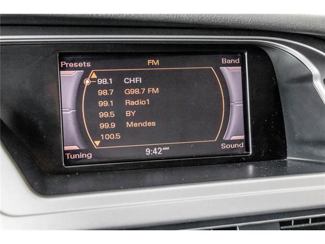 2011 Audi A4 2.0T Premium Plus (Stk: SU0069A) in Guelph - Image 22 of 22