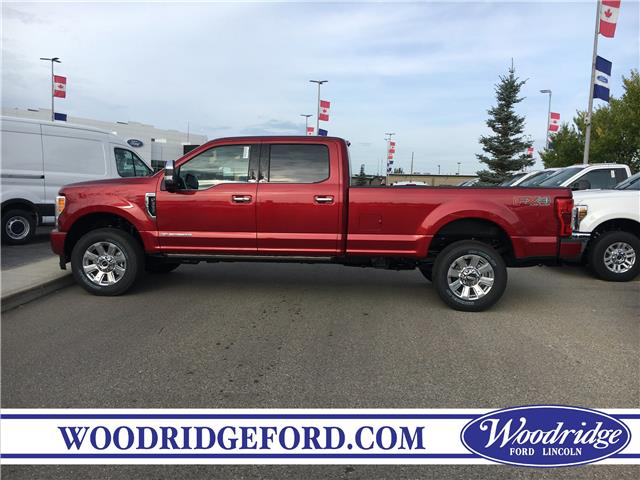2019 Ford F-350 Platinum (Stk: K-2669) in Calgary - Image 2 of 5