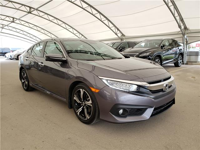 2017 Honda Civic Touring (Stk: L19363A) in Calgary - Image 1 of 23