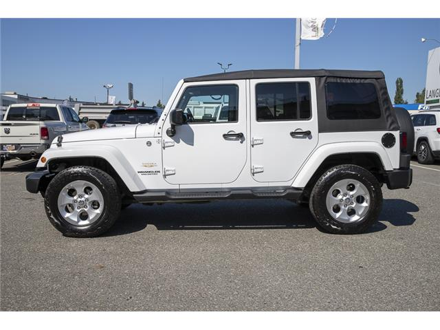 2014 Jeep Wrangler Unlimited Sahara (Stk: LF9701B) in Surrey - Image 4 of 22