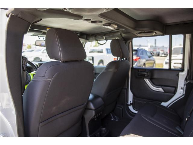 2014 Jeep Wrangler Unlimited Sahara (Stk: LF9701B) in Surrey - Image 10 of 22