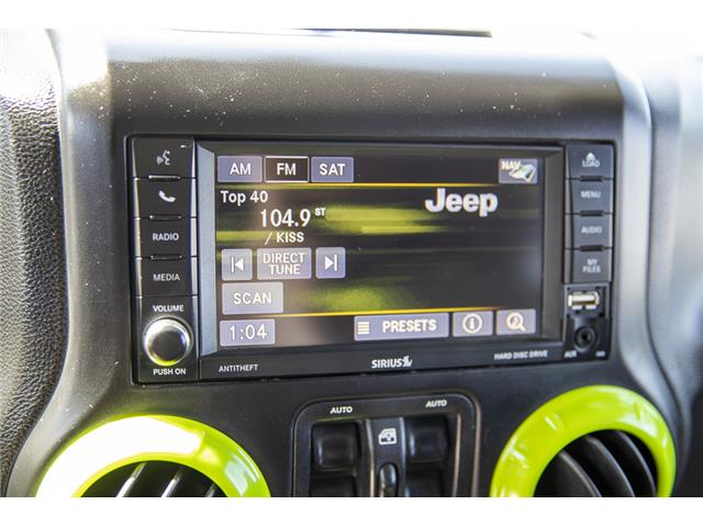 2014 Jeep Wrangler Unlimited Sahara (Stk: LF9701B) in Surrey - Image 18 of 22