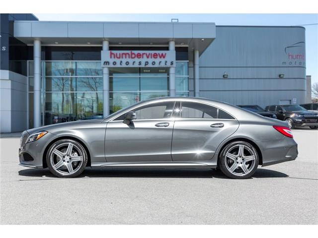 2016 Mercedes-Benz CLS-Class Base (Stk: 19HMS619B) in Mississauga - Image 3 of 24