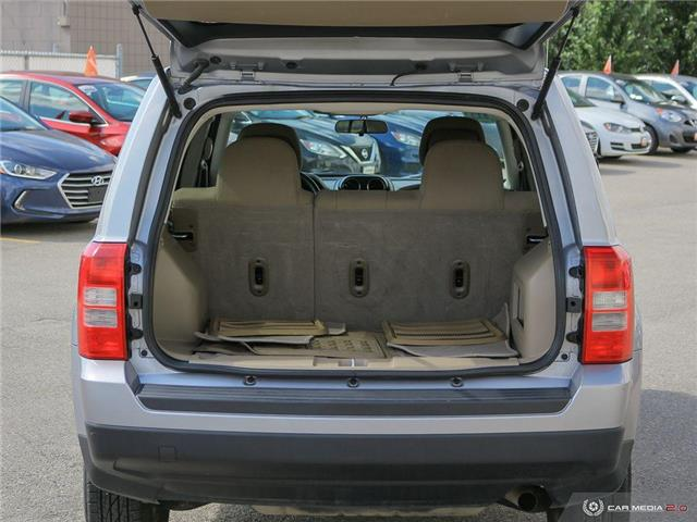 2015 Jeep Patriot Sport/North (Stk: NE233A) in Calgary - Image 10 of 27