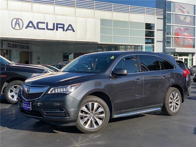 2014 Acura MDX Navigation Package (Stk: 4092A) in Burlington - Image 1 of 30