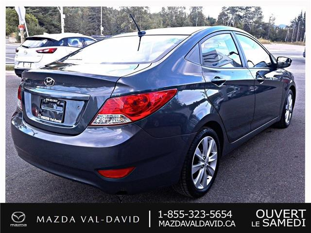 2012 Hyundai Accent  (Stk: 19425A) in Val-David - Image 4 of 18