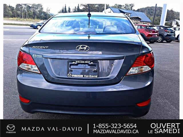2012 Hyundai Accent  (Stk: 19425A) in Val-David - Image 5 of 18
