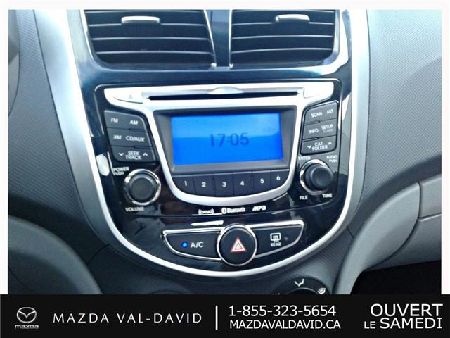 2012 Hyundai Accent  (Stk: 19425A) in Val-David - Image 16 of 18
