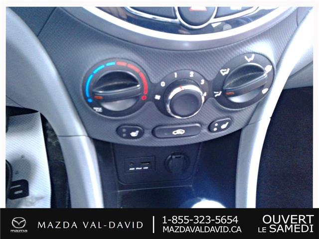 2012 Hyundai Accent  (Stk: 19425A) in Val-David - Image 17 of 18