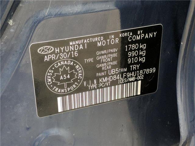 2017 Hyundai Elantra GL (Stk: H3968B) in Toronto - Image 28 of 28