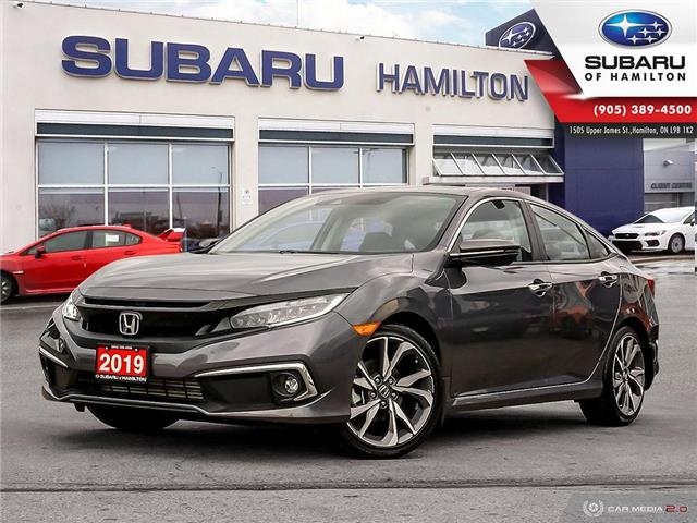 2019 Honda Civic Touring (Stk: S7836A) in Hamilton - Image 1 of 26