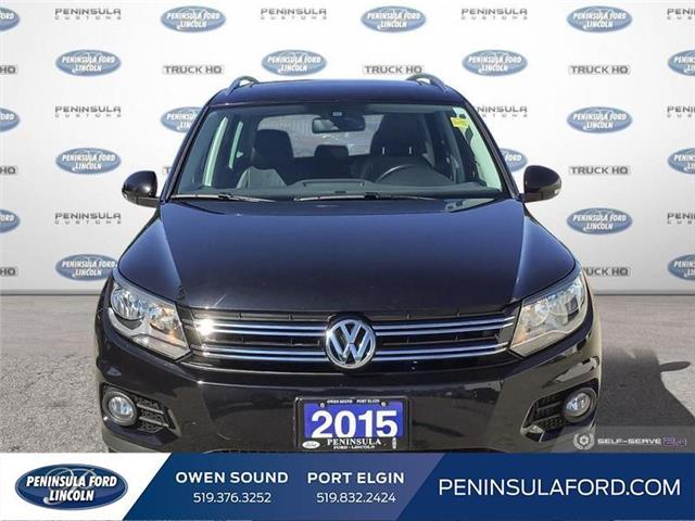 2015 Volkswagen Tiguan Highline (Stk: 19LI31A) in Owen Sound - Image 2 of 25