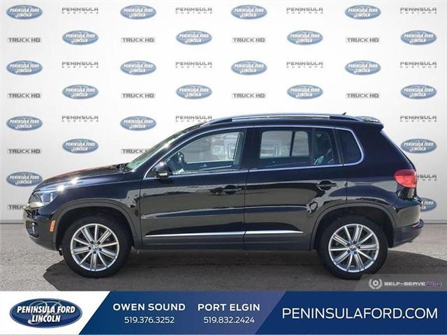 2015 Volkswagen Tiguan Highline (Stk: 19LI31A) in Owen Sound - Image 3 of 25