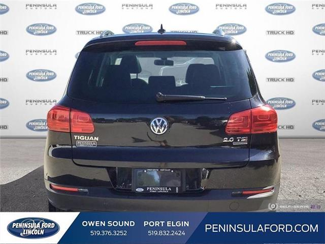2015 Volkswagen Tiguan Highline (Stk: 19LI31A) in Owen Sound - Image 5 of 25