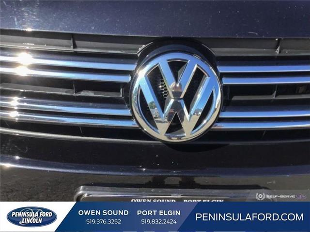 2015 Volkswagen Tiguan Highline (Stk: 19LI31A) in Owen Sound - Image 9 of 25